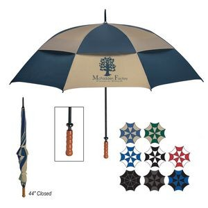 "68"" Arc Windproof Vented Umbrella"